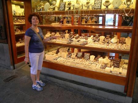 Ponte Vecchio,gioielleria,Firenze