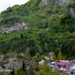 Erto(PN)-zona d'arrivo 11^ tappa, giro 2013