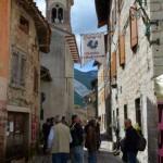 Erto (Pn)-per le vie del vecchio borgo