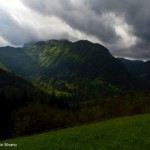 Erto (Pn)-le montagne attorno al paese