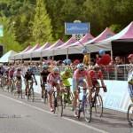 arrivo del gruppo maglia rosa Nibali Vincenzo