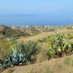 Bocale(Rc): panorama dalle colline di Pellaro
