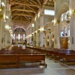 Reggio Calabria: il Duomo- la navata centrale