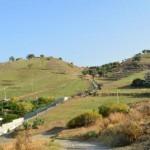 Pellaro(Rc): le colline sopra il paese