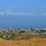 Pellaro(Rc): panorama con vista sullo stretto