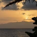 Bocale(Rc) spiaggia Calypso: tramonto sul mare