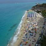 Tropea: la spiaggia di San Leonardo