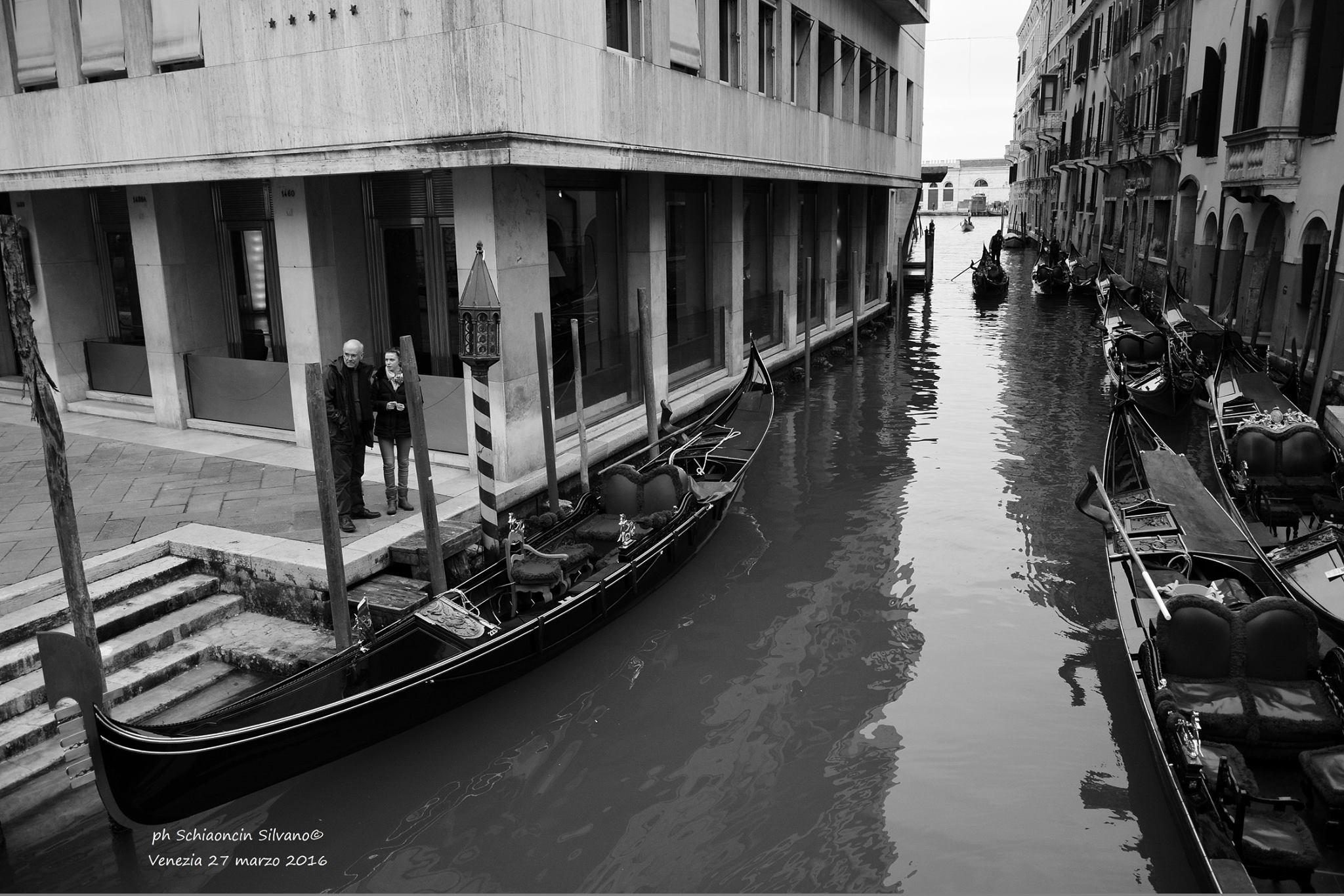Repost venezia in bianco e nero fotografie per la citt - Disegni in bianco per la colorazione ...