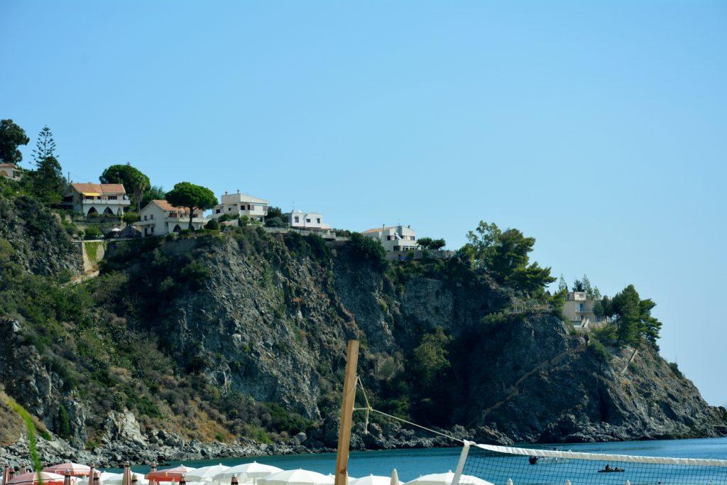 Caminia (CZ): la spiaggia.
