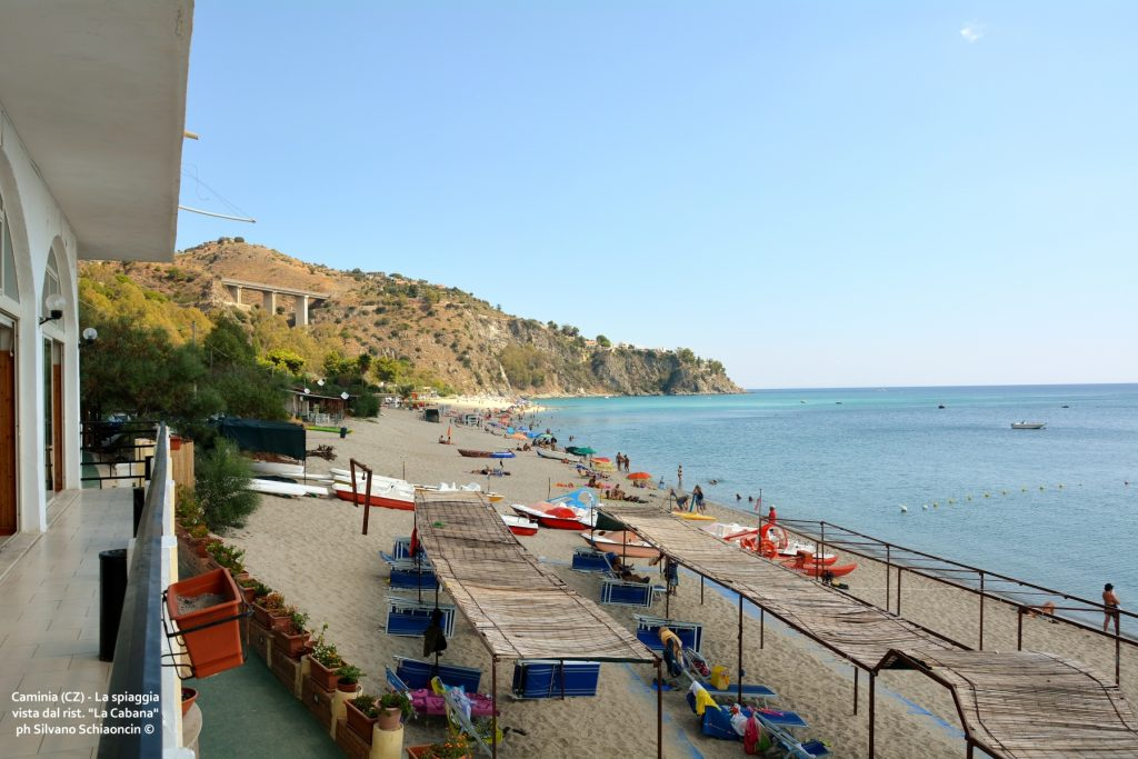 """Caminia (CZ)_Ristorante """"La Cabana"""": la spiaggia."""