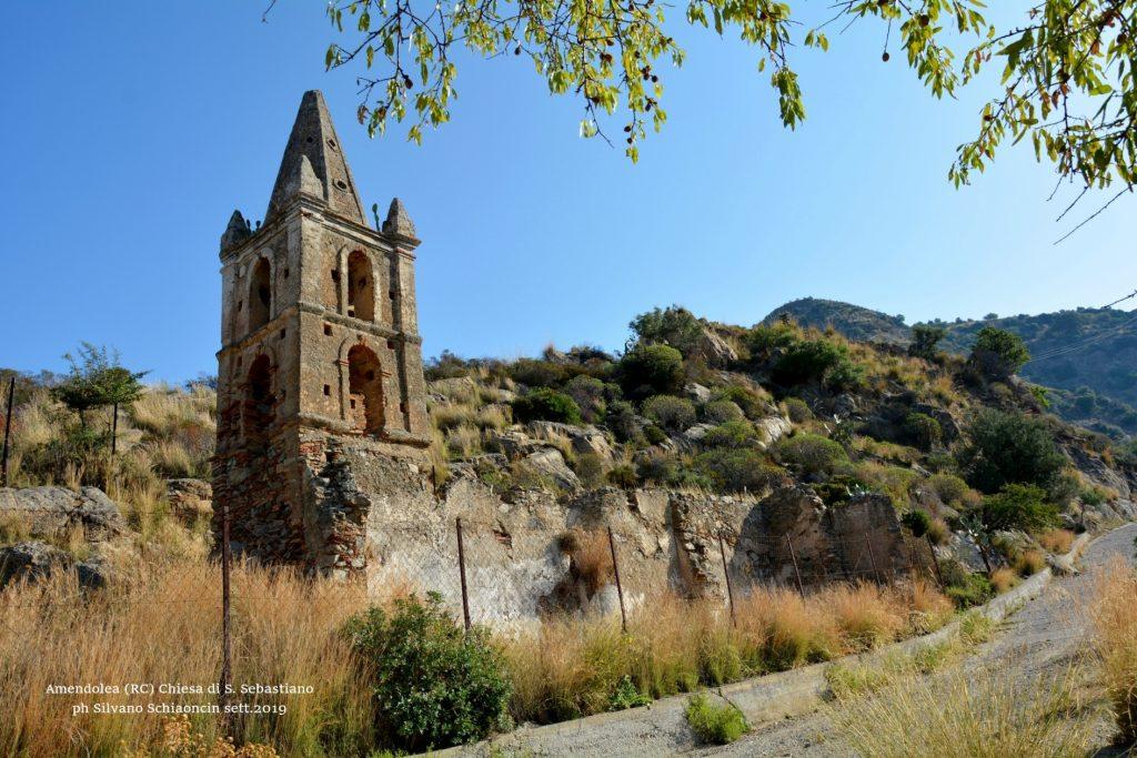 Amendolea_(RC)_Chiesa di San Sebastiano (XV sec.)(resti).