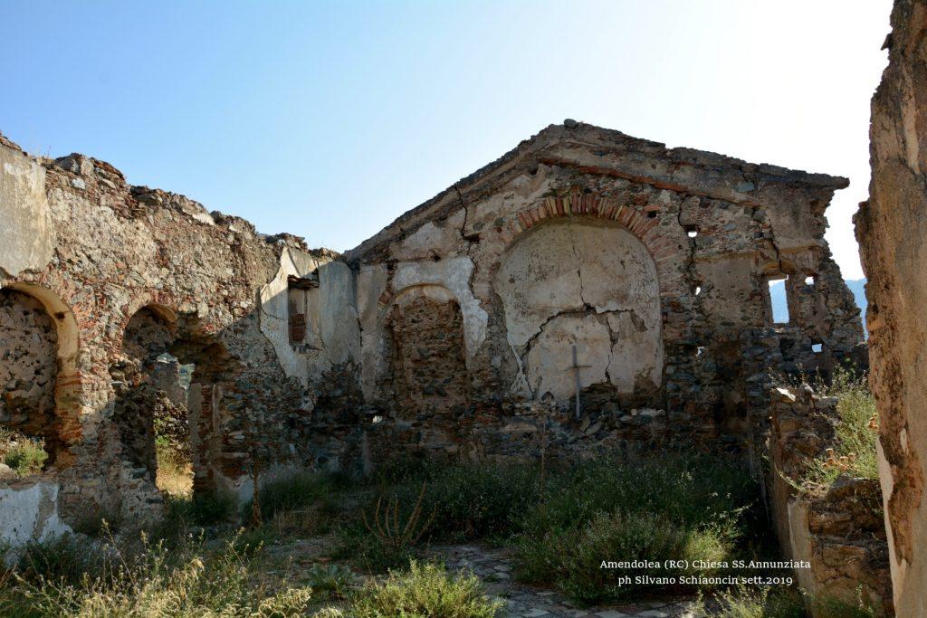Amendolea_(RC)_Chiesa della SS. Annunziata (XIV sec.)(resti).